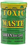#6: Candy Dynamics Toxic Waste Green Sour Candy, 42g