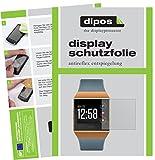 dipos I 6X Schutzfolie matt passend für Fitbit Ionic Folie Bildschirmschutzfolie