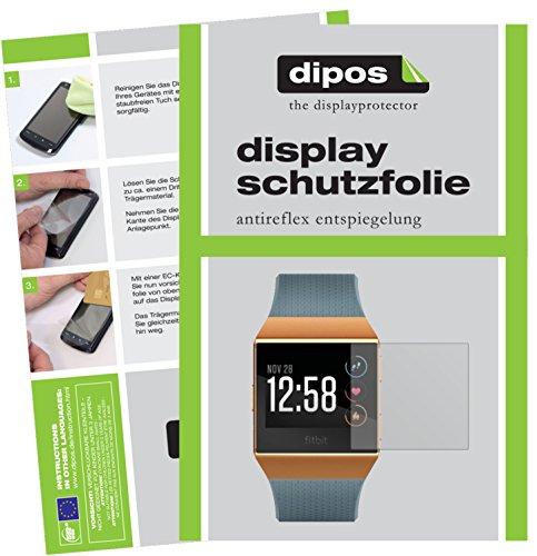 dipos I 6X Schutzfolie matt passend für Fitbit Ionic Folie Displayschutzfolie