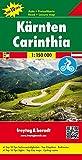 Carinzia 1:150.000: Toeristische wegenkaart 1:150 000