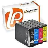 Bubprint 4 Druckerpatronen kompatibel für Epson T7891 T7892 T7893 T7894 für WorkForce Pro WF-5110DW WF-5190DW WF-5620DWF WF-5690DWF BK/C/M/Y