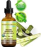 Moringa Aceite Orgánico Certificado. 100% puro/Natural/Sin Diluir. 1fl....