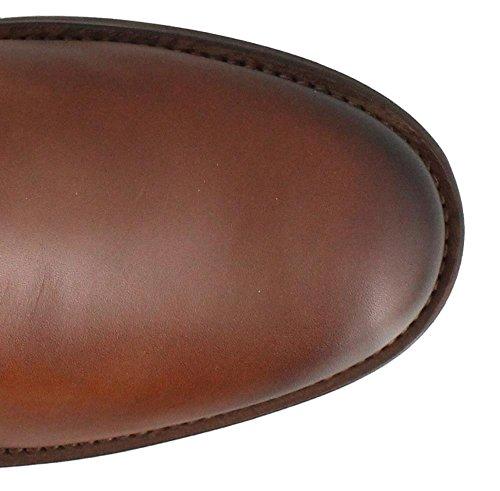 Pikolinos Guêtre en cuir brun Marron