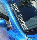 100% Sauger Frontscheibenaufkleber 6 7 5 4 Golf Polo GTI Aufkleber R 9N A4 A3 A1