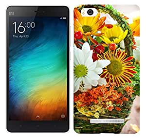 WOW 3D Printed Designer Mobile Case Back Cover For XIAOMI MI4i / MI 4i