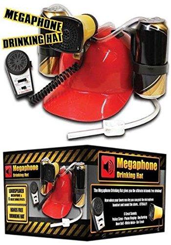 Megaphon Trinkhelm - Bierhelm mit 6 verschiedenen Sounds