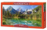 Castorland C-400065-2 - Majesty of the Mountains, Puzzlee 4000-teilig, Klassische Puzzle