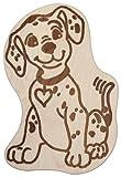 Hofmeister Holzwaren Kinder-Schneidbrett mit Tiermotiv Dalmatiner