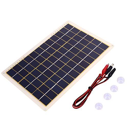 Hanbaili 18V Solar Energy Lamp Panel,15W tragbare Solarzelle Panel für Solar-Ladegerät DIY