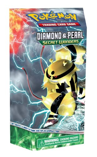 PoKéMoN EX Diamond & Pearl Secret Wonder Lavaflow and Powerhouse Theme Deck Set