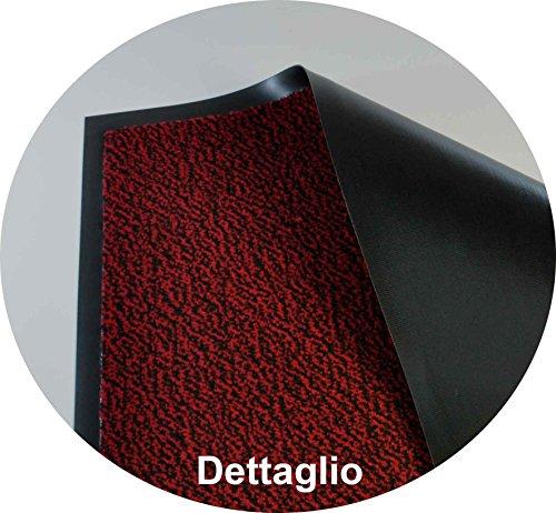 ! CASA TESSILE Nevada Zerbino tappeto asciugapassi – GRIGIO, 60×90 cm. comprare on line