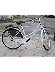 Bicicleta Reina Holanda Grace 26de mujer Caminar, blanco, -