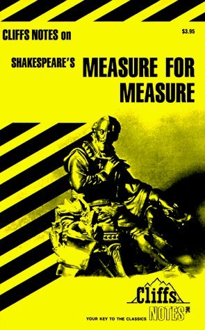 Notes on Shakespeare's Measure for Measure (Cliffs notes) by L.L. Hillegass (1978-12-01)