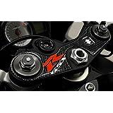 Adhesivos 3D Suzuki Gsxr Protección Placa Horquilla Dirección Moto X Gsx-R Carbono