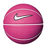 Nike Erwachsene Swoosh Skills644 Basketball, Vivid Pink/White/Black, 3