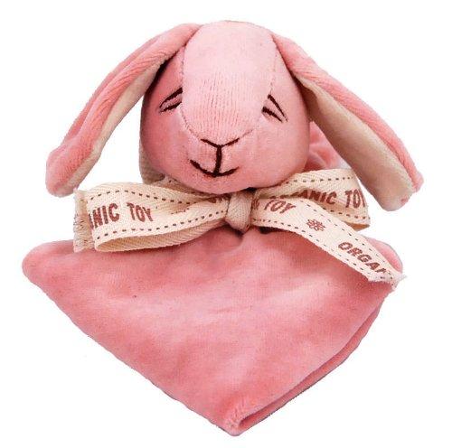 Miyim Simply Organic Lovie Blankie, Bunny, 0-3 Months [Baby Product] (japan import)