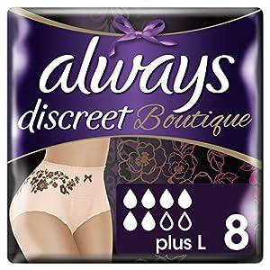 Always Discreet Boutique Unterwäsche, groß, 2Stück