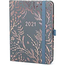 Boxclever Press Everyday 2021 Diary. Weekly Planner Runs Jan - Dec'21. Stunning Diary 2021 with Monthly Planning Pages & Dotted Notes Pages. Portable Diary Planner in Mist