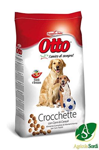 Raggio di sole croccantini otto 20kg l'amico di sempre mangime completo alimento per cani adulti per tutte le razze