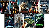Avengers Ultimate Marvel Comic Heroes All 9 Movies DVD Complete Collection - Iron Man 1, Iron Man 2, Iron Man 3, Captain America : The First Avenger, Captain America: Winter Soldier, Thor 1, Thor 2: The Dark World, Hulk (Eric Bana), Incredible Hulk (Edward Norton) Extras by Robert Downey Jr