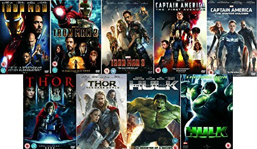 Avengers-Ultimate-Marvel-Comic-Heroes-All-9-Movies-DVD-Complete-Collection-Iron-Man-1-Iron-Man-2-Iron-Man-3-Captain-America-The-First-Avenger-Captain-America-Winter-Soldier-Thor-1-Thor-2-The-Dark-Worl