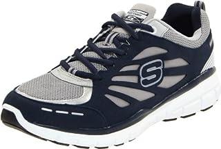 Skechers Herren Compete Run Sneaker, BlauNVGY, 44 EU