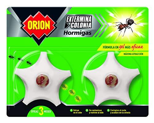 Orion Cebo Gel Matahormigas - 2 Recipientes de 400 ml - Total: 800 ml