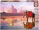 Educa Borrás - Puzzle de 1000 piezas, Elefante en el Taj Mahal (16756)