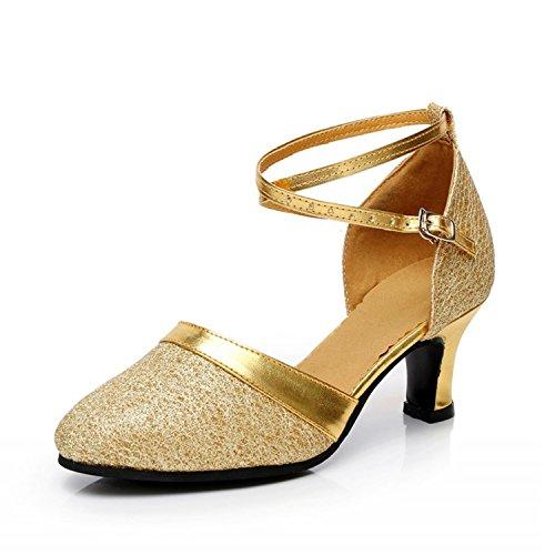 XPY&DGX Di ballo da sala da ballo sala da ballo scarpe da ballo alla fine di soft adulto tacco alto latino scarpe da ballo, usura per adulti 250MM