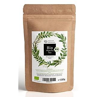 Bio-Matcha-Tee-Pulver-100g–Echter-Bio-Matcha-DE-KO-001-Ohne-Zustze-rein-natrlich-100-Bio-im-wiederverschliebaren-Beutel-Perfekt-fr-Tee-Matcha-Latte-Matcha-Smoothies-und-mehr