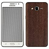 atFolix Samsung Galaxy Grand Prime Skin FX-Wood-Teak Designfolie Sticker - Holz-Struktur/Holz-Folie