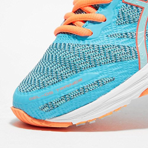 Asics Gel-Ds Trainer 22, Running Femme Bleu (Aquarium/aqua Splash/flash Coral)