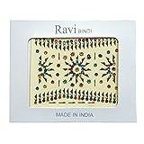 Bindis 110 Stück Stirnschmuck Kärtchen Karte selbstklebend Bollywood Schmuck Indien Hinduismus