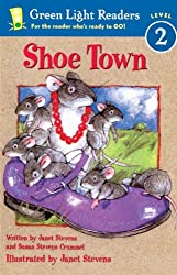 Shoe Town (Green Light Readers: Level 2) by Janet Stevens (2003-07-06)