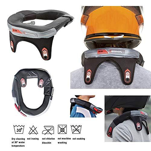 TUANMEIFADONGJI Protector Cuello Carrera Collar Motocross