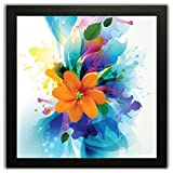 Paintings with frame for living room | Large size | Size: (12 inch x 12 inch) | Special Effect Textured