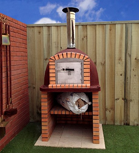 900mm Insulated Outdoor Wood Fired Pizza Oven