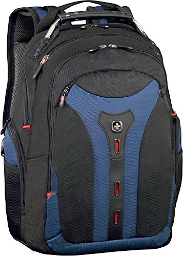 "Wenger/SwissGear Pegasus Mini Nylon,Polyester Black,Black,Blue,Blue backpack - backpacks (Nylon, Polyester, Black, Black, Blue, Blue, 39.6 cm (15.6""), Front pocket, Side pocket, Cell phone pocket, Document pocket, Zipper)"