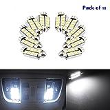 ronben 10x 42mm 8-smd 5050Canbus LED Auto Dome innen weiß Licht Soffitte Leuchtmittel Lampe