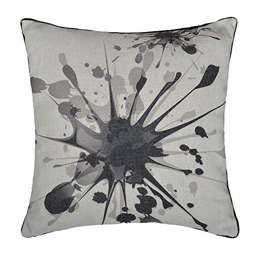 Jwh Lin Imprimé avec boule de fil Housses de coussin Décor Home Canapé Car Throw Taies d'oreiller 43,2 x 43,2 cm, Wash Painting, 18x18 Inch