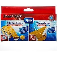 Figo Doppelpack Wundpflaster & Pflaster-Strips, 21 Stück preisvergleich bei billige-tabletten.eu