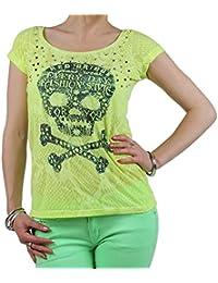 REDBRIDGE by Cipo & Baxx Mujer kurzarmon Camiseta de tamaño XS de l