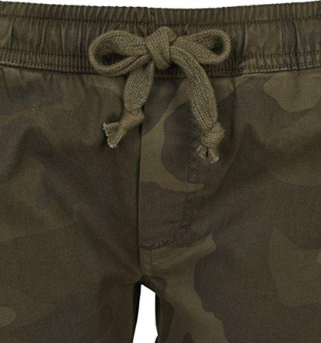 Urban Classic Ladies Camo Jogging Pants, Pantaloni Sportivi Donna Mehrfarbig (Olive Camo 00775)