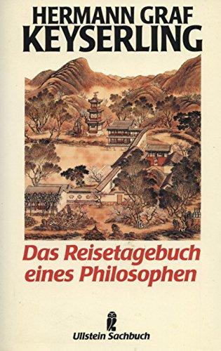 Das Reisetagebuch eines Philosophen