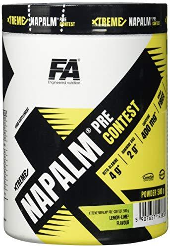 FA Nutrition Xtreme Napalm Pre-contest - 500 g - Zitrone-Limon - Pre-workout booster