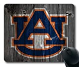 Auburn Tigers Wood Look Mouse Pad, Customized Rectangle Mousepad Diy By Bestsellcase