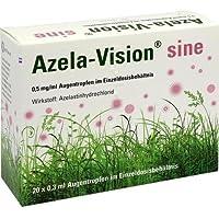 AZELA-Vision sine 0,5 mg/ml Augentr.i.Einzeldosis. 20X0,3 ml by OmniVision GmbH preisvergleich bei billige-tabletten.eu