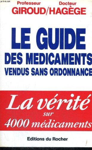Le guide des médicaments vendus sans ordonnance PDF