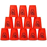 2 x 12er Set Stapelbecher Stapel Becher Speedstacking Speed Stacking Schnellstapeln sortiert