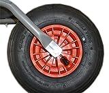 org. Starco Ersatzrad Rot 3,5x6 Rad für Limex Schubkarre Gartenkarre Baukarre ***NEU***